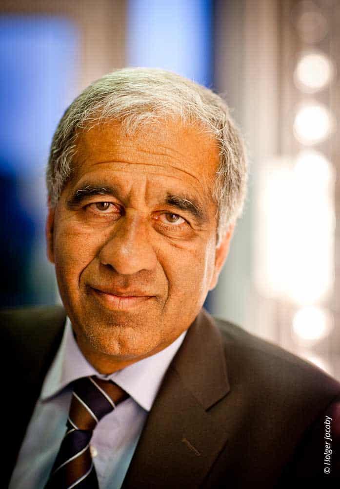 Portrait des Meteorologen und Wissenschaftlers Mojib Latif
