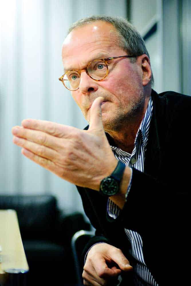 Portrait Schriftsteller Wolf Wondratscheck